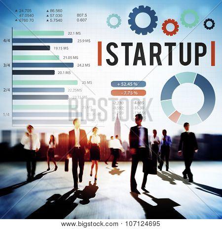 Start up New Business Growth Sucess Development Concept