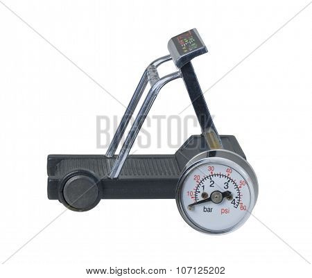 Treadmill With Pressure Gauge