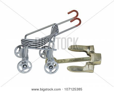 Stroller With Anchor