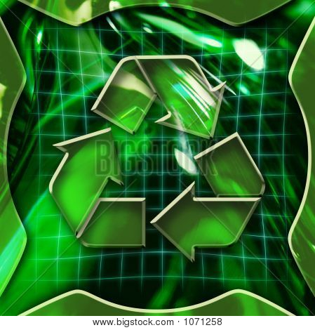 Recycling Icon Deactivated