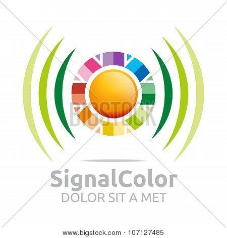 Logo Signal color