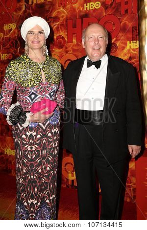 LOS ANGELES - SEP 20:  Julian Fellowes at the HBO Primetime Emmy Awards After-Party at the Pacific Design Center on September 20, 2015 in West Hollywood, CA