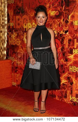 LOS ANGELES - SEP 20:  Keisha Castle-Hughes at the HBO Primetime Emmy Awards After-Party at the Pacific Design Center on September 20, 2015 in West Hollywood, CA
