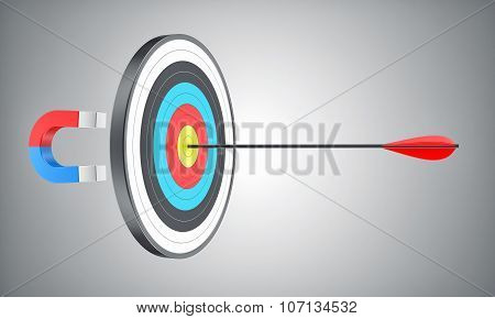 Target With An Arrow