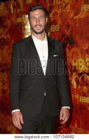 LOS ANGELES - SEP 20:  Pablo Schreiber at the HBO Primetime Emmy Awards After-Party at the Pacific Design Center on September 20, 2015 in West Hollywood, CA