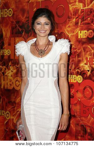 LOS ANGELES - SEP 20:  Pooja Batra at the HBO Primetime Emmy Awards After-Party at the Pacific Design Center on September 20, 2015 in West Hollywood, CA