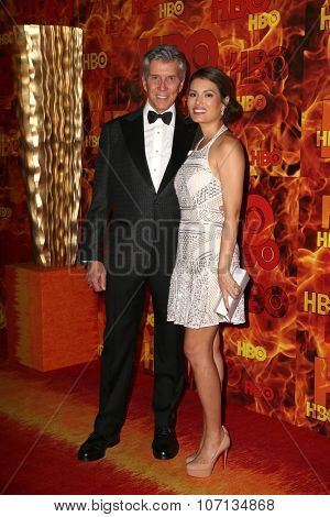 LOS ANGELES - SEP 20:  Michael Buffer at the HBO Primetime Emmy Awards After-Party at the Pacific Design Center on September 20, 2015 in West Hollywood, CA