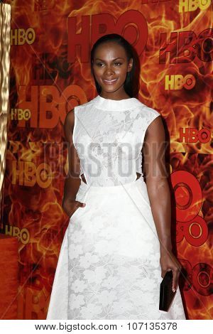LOS ANGELES - SEP 20:  Tika Sumpter at the HBO Primetime Emmy Awards After-Party at the Pacific Design Center on September 20, 2015 in West Hollywood, CA