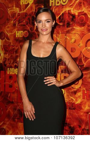 LOS ANGELES - SEP 20:  Jodi Balfour at the HBO Primetime Emmy Awards After-Party at the Pacific Design Center on September 20, 2015 in West Hollywood, CA