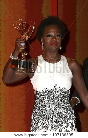 LOS ANGELES - SEP 20:  Viola Davis at the HBO Primetime Emmy Awards After-Party at the Pacific Design Center on September 20, 2015 in West Hollywood, CA