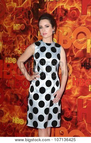 LOS ANGELES - SEP 20:  Zoe Lister-Jones at the HBO Primetime Emmy Awards After-Party at the Pacific Design Center on September 20, 2015 in West Hollywood, CA