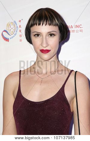LOS ANGELES - NOV 3:  Julia Marie at the 11th Annual Chinese American Film Festival Opening Night at the Ricardo Montalban Theater on November 3, 2015 in Los Angeles, CA