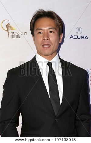 LOS ANGELES - NOV 3:  Andy On at the 11th Annual Chinese American Film Festival Opening Night at the Ricardo Montalban Theater on November 3, 2015 in Los Angeles, CA