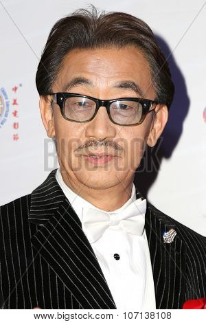 LOS ANGELES - NOV 3:  George Cheung at the 11th Annual Chinese American Film Festival Opening Night at the Ricardo Montalban Theater on November 3, 2015 in Los Angeles, CA