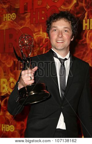 LOS ANGELES - SEP 20:  Chris Addison at the HBO Primetime Emmy Awards After-Party at the Pacific Design Center on September 20, 2015 in West Hollywood, CA