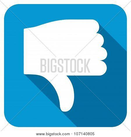 Thumb Down Longshadow Icon