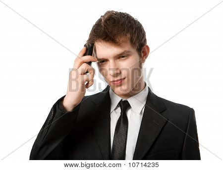 Man With A Telephone