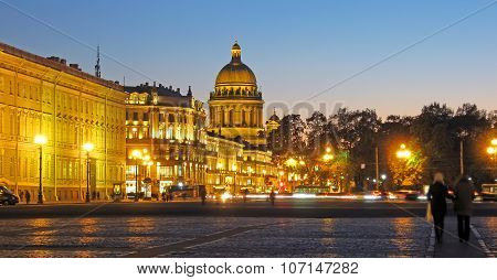 Saint-Petersburg. Russia. The St Isaac's Cathedral