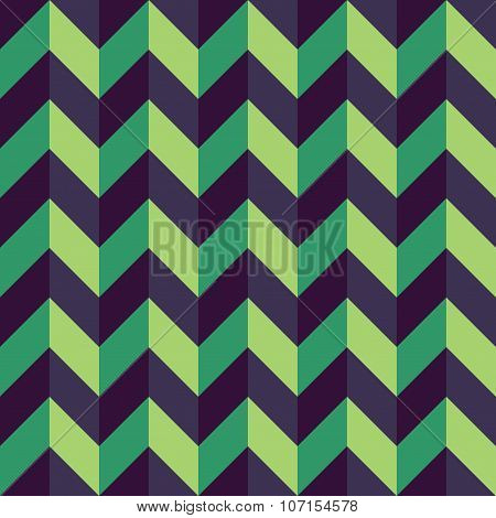 Vector modern seamless colorful geometry chevron lines pattern color blue green abstract