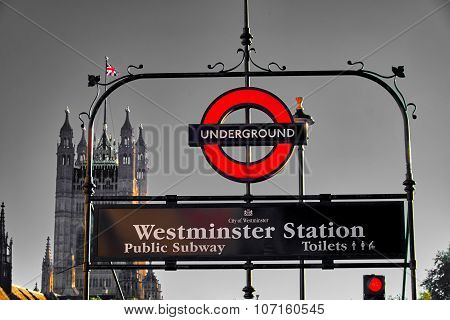 London Metro Station