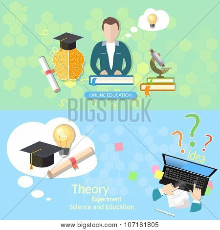 Education Concept Teacher Classroom Exams Online Education Diploma Laptop Student Lecturer Distance
