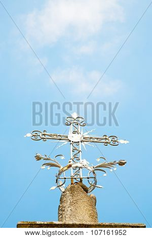 Abstract Cross In Italy Europe And   Background