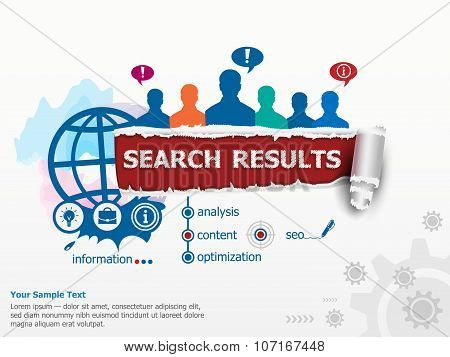 Search Results Concept And Group Of People.