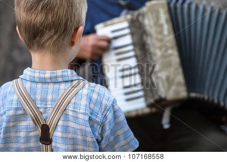 Childhood Street Music Concert