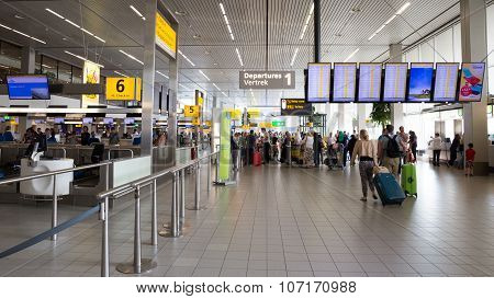 Schiphol Departure