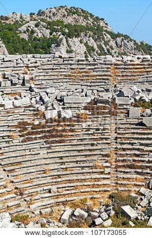 The Old  Antalya Turkey Asia Sky  Ruins