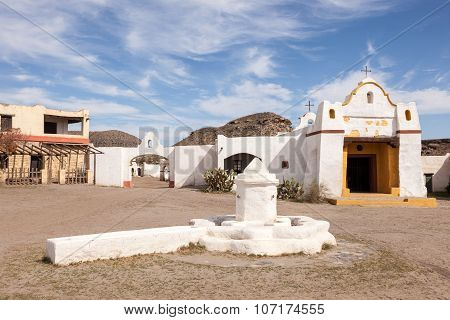 Abandoned Mexican Village