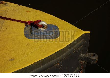 Yellow Canal Boat