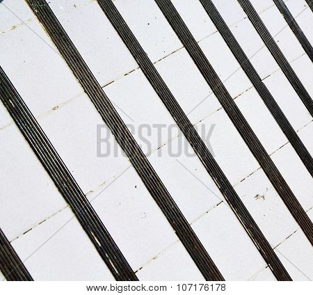 Asia   Thailand Abstract Cross Colors Step Rail  Wat