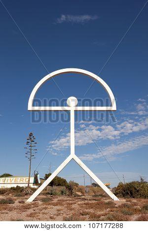 Symbol Of Almeria Province, Spain