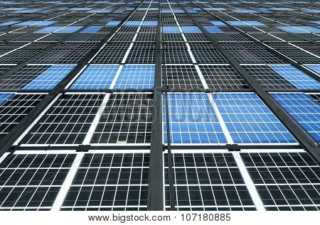 Large Solar Panel Installation