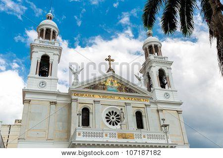 Nossa Senhora Nazare Cathedral in Belem do Para, Brazil