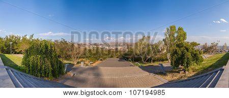 View On The City Of Yerevan
