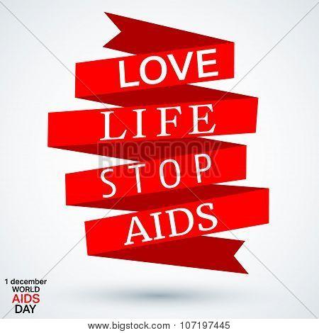 Aids Ribbon Symbol