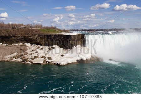 The Fantastic Landscape With The Niagara Falls