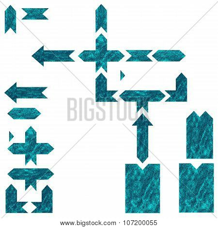 Decorative Arrow Element Set