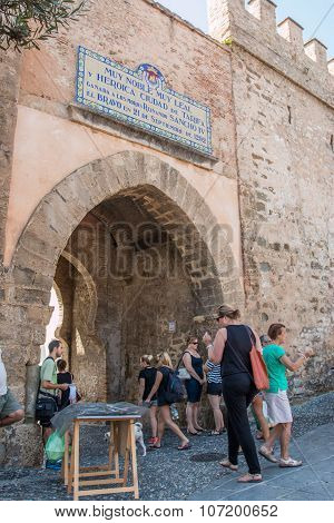 Puerta De Jerez In Tarifa