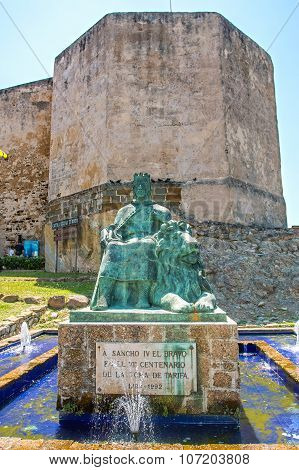 Sancho Iv Statue, The Brave, In Tarifa