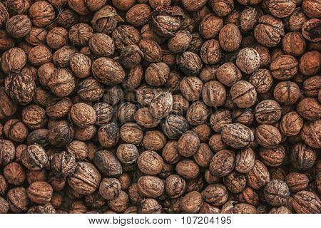 Lot of walnuts