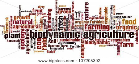 Biodynamic Agriculture Word Cloud