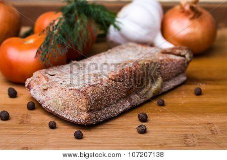 One Piece Salted Spicy Lard