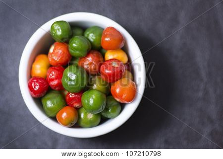 Scotch Bonnet Chili Peppers