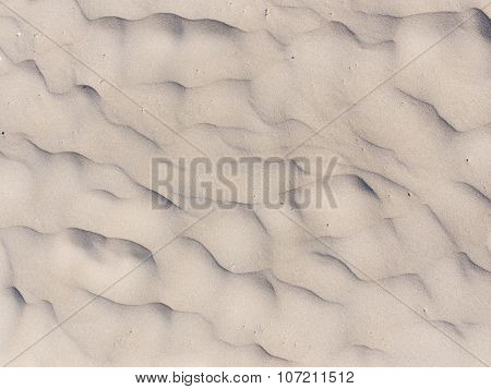 Wavy Sand Surface