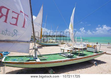 Jangada Fishing Boats