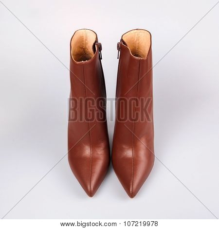 Stylish Brown Ladies Shoes