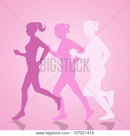 Running Women For Breast Cancer